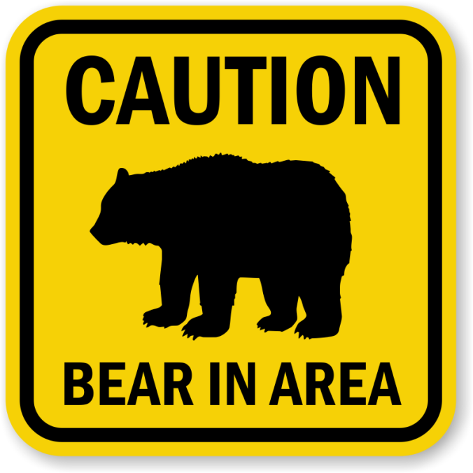 bear-in-area-sign-k-0020